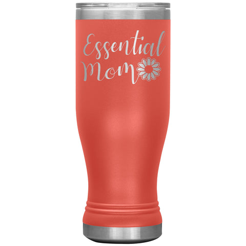 Essential Mom Tumbler Cup coral