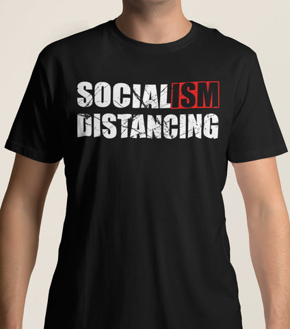 Socialism Distancing T-Shirts mock up