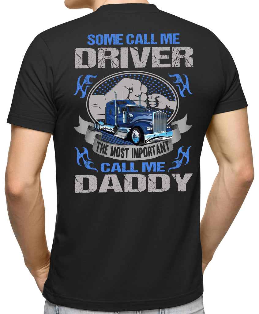 Some Call Me Driver Trucker Dad Shirt 2 mock up