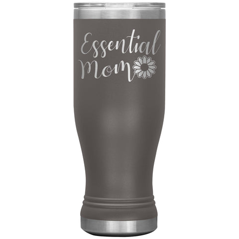 Essential Mom Tumbler Cup pewter
