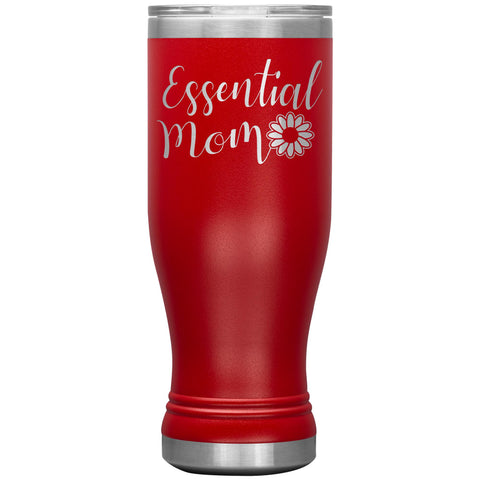 Essential Mom Tumbler Cup red