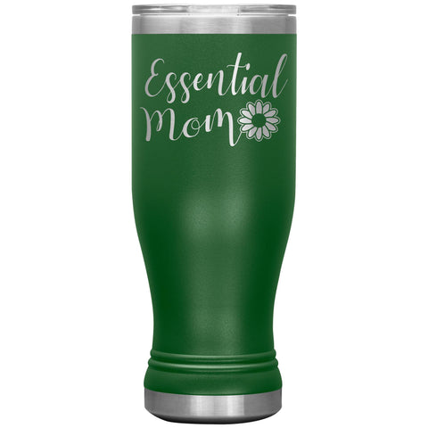 Essential Mom Tumbler Cup green
