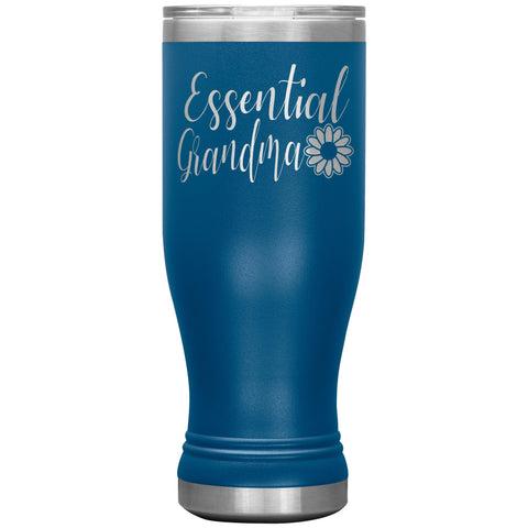 Image of Essential Grandma Tumbler Cup, Grandma Gift Idea blue