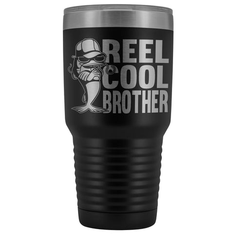 Image of Reel Cool Brother 30oz.Tumblers Brothers Travel Coffee Mug black