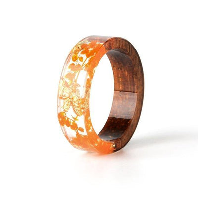 Handmade Colorful Wood Love Ring - MaviGadget