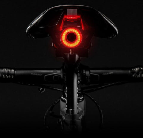 Bicycle Smart Auto Brake Sensing Light