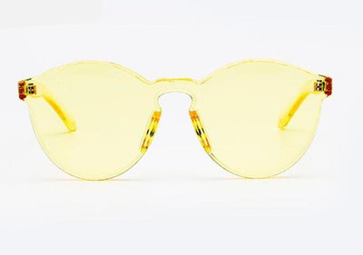 Candy color Transparent Sunglasses - MaviGadget