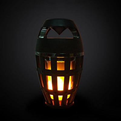 Flame Atmosphere Lamp Light with Bluetooth Speaker - MaviGadget