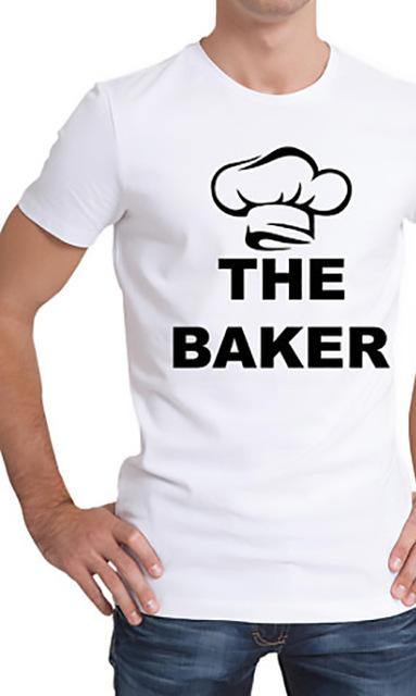 The Baker Couple Funny T-shirt - MaviGadget