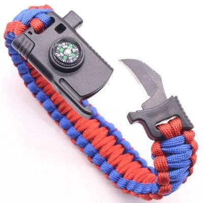 Survival Outdoor Camping Bracelet - MaviGadget