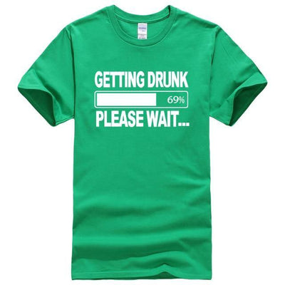 Getting Drunk Funny T-Shirts - MaviGadget