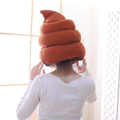 Poop Head Plush Pillow - MaviGadget