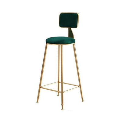 Nordic Modern Iron Bar Stool - MaviGadget