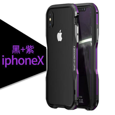Metal Frame Bumper Case for iPhone - MaviGadget