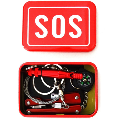 Emergency Tool Set Multi-function Wildlife SOS Tool Box