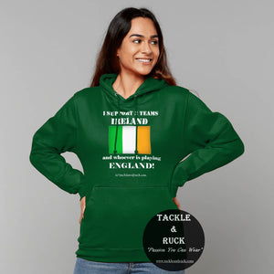 Tackle & Ruck - Irish Ireland rugby hoodies in store - men and women