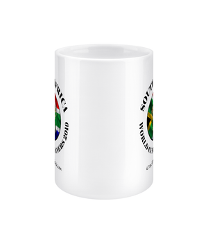 11oz South Africa Rugby World Cup Winners Mugs - Front