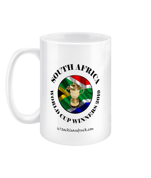 11oz South Africa Rugby World Cup Winners Mugs - Right