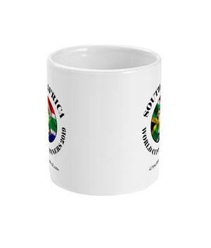 15oz South Africa Rugby World Cup Winners Mugs - Front