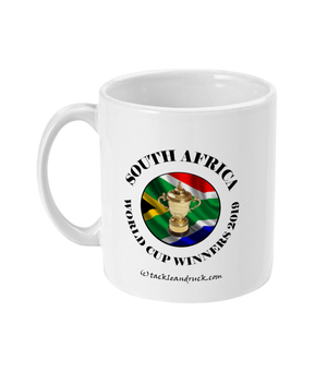 15oz South Africa Rugby World Cup Winners Mugs - Right