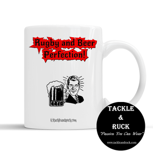 Rugby Mug - Rugby And Beer Perfection