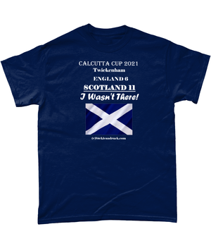 TACKLE AND RUCK - SCOTLAND CALCUTTA CUP 2021 T SHIRTS TEES RUGBY CLOTHING