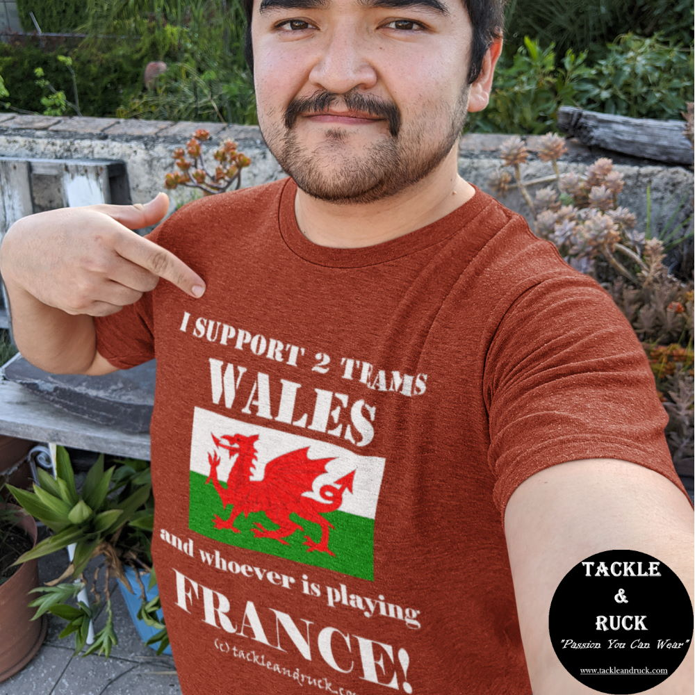 I Support 2 Teams Wales & Whoever's Playing France