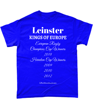 Leinster T-Shirt - Kings Of Europe