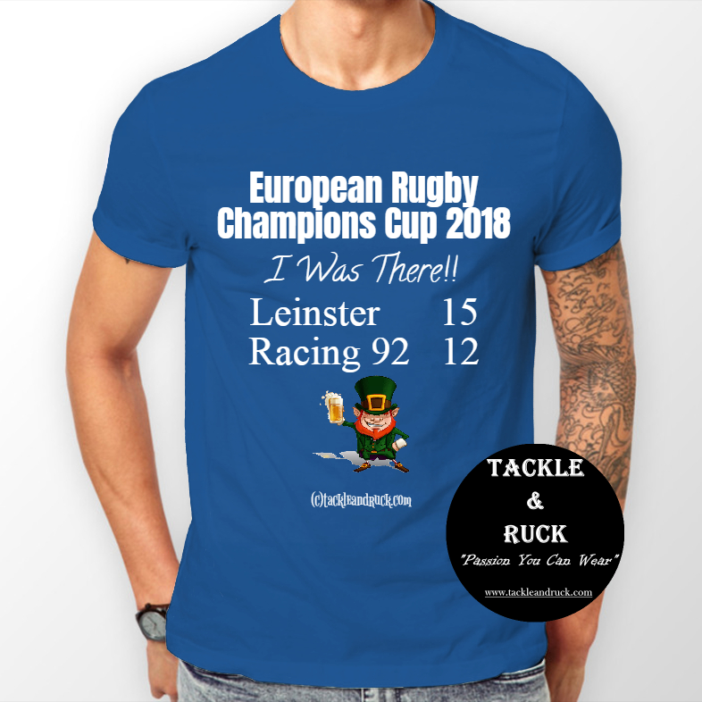 Leinster T-Shirt - European Rugby Champions Cup 2018 - I Was There