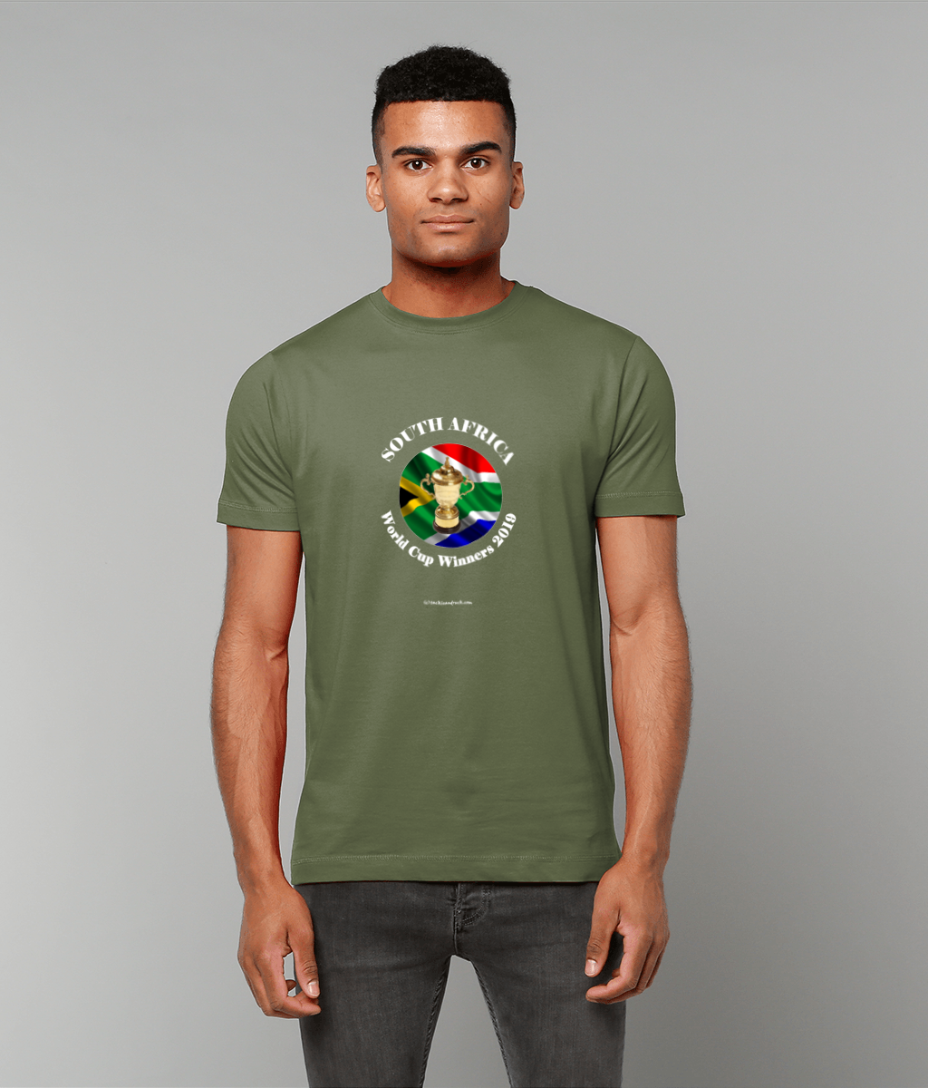 Exclusive South Africa Rugby World Cup Winners 2019 Mens T Shirt