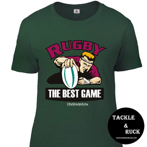 Women's T-Shirt - Rugby The Best Game