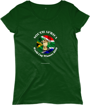 South Africa Rugby World Cup Winners 2019 - Womens T-Shirts