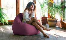 Load image into Gallery viewer, Kiss Outdoor Bean Bag Chair Iris - Backyard Home Oasis