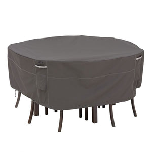 Classic-Accessories-Ravenna-Water-Resistant-82-Inch-Round-Patio-Table-Chair-Set-Cover