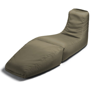 Prado Beanbag Lounger Taupe - Backyard Home Oasis
