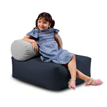 Load image into Gallery viewer, Jaxx Tybee Jr Kids Outdoor Lounger w/ Bolster -Sunbrella