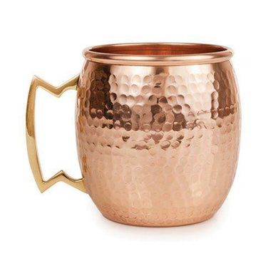 Hammered Copper Moscow Mule Mug - Backyard Home Oasis