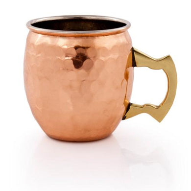 Hammered Moscow Mule Shot Mugs - Backyard Home Oasis