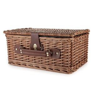 Newport Wicker Picnic Basket by Twine