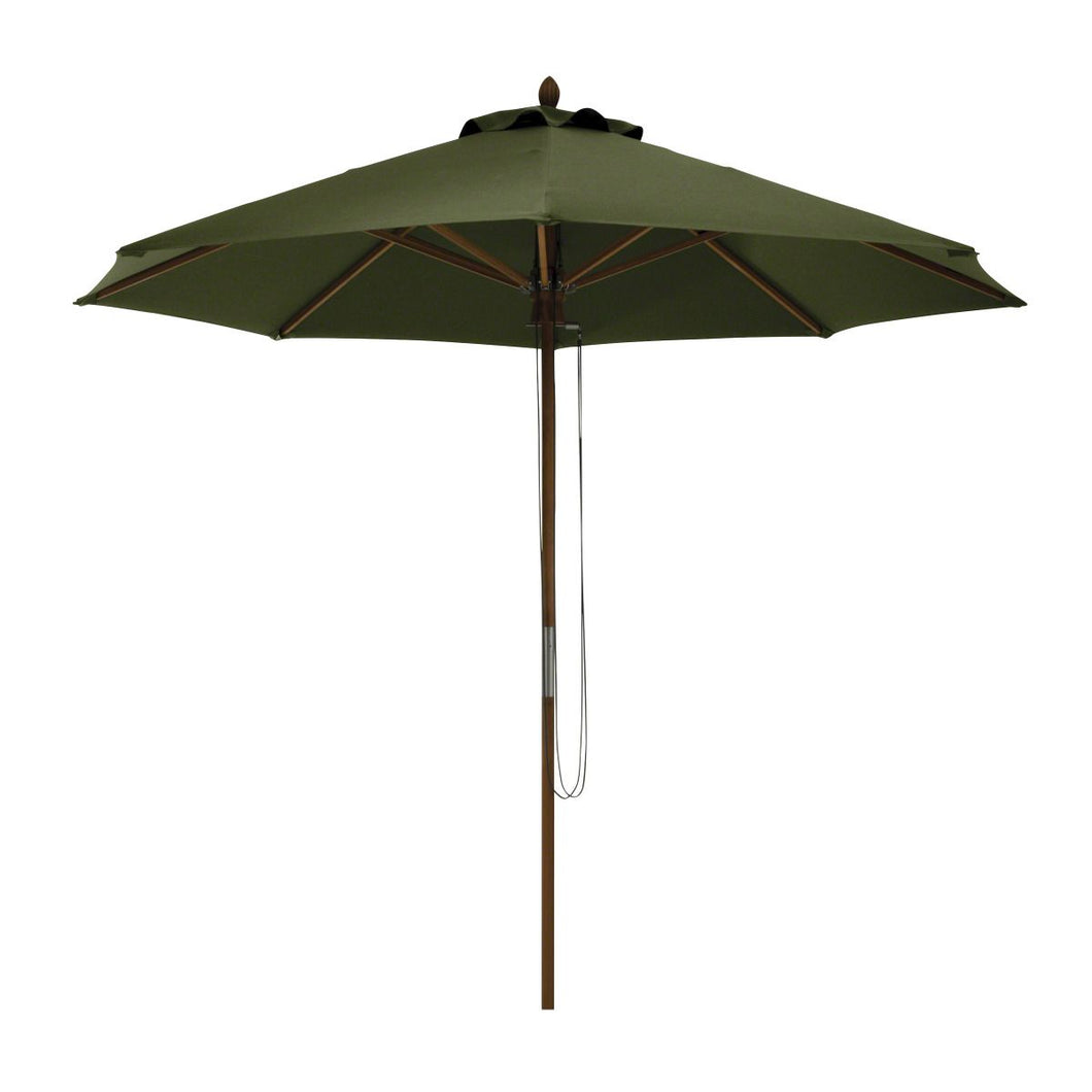Montlake Fadesafe Bamboo Patio Umbrella - Fern - Backyard Home Oasis