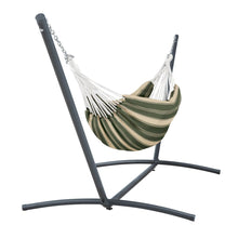 Load image into Gallery viewer, Montlake Fadesafe Brazilian Hammock with Steel Stand - Fern - Backyard Home Oasis