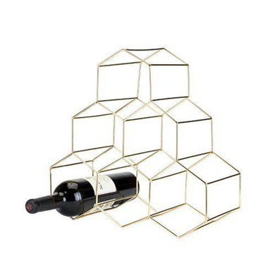 Hexagon Wine Rack - Backyard Home Oasis
