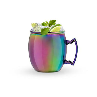 Rainbow Moscow Mule Mug - Backyard Home Oasis