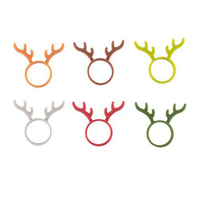 Reindeer Bottle Neck Markers