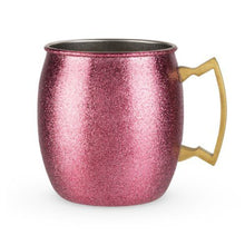 Load image into Gallery viewer, Pink Glitter Moscow Mule - Backyard Home Oasis