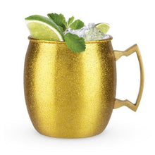 Load image into Gallery viewer, Gold Glitter Moscow Mule - Backyard Home Oasis