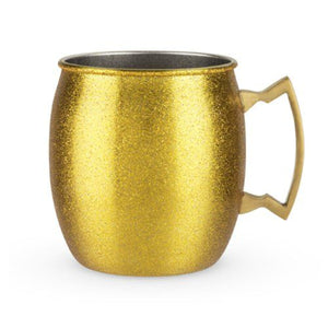 Gold Glitter Moscow Mule - Backyard Home Oasis