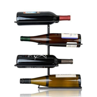 Four Bottle Wall Mounted Wine Rack by True (842094176885)