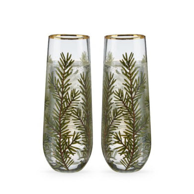 Woodland Stemless Champagne Flute - Set of 2