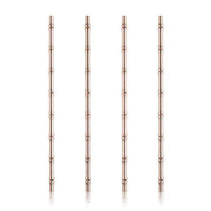 Copper Bamboo Straws